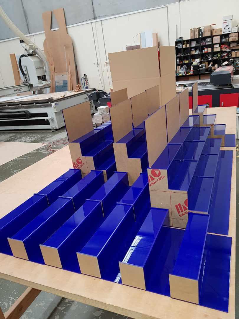 Blue displays